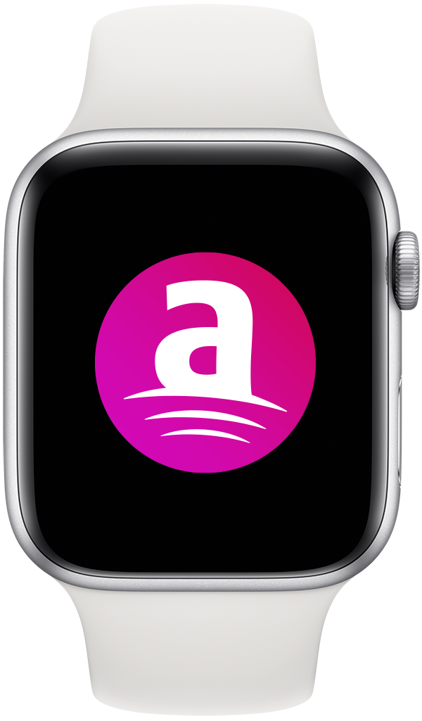 Apple Watch with Attain screen